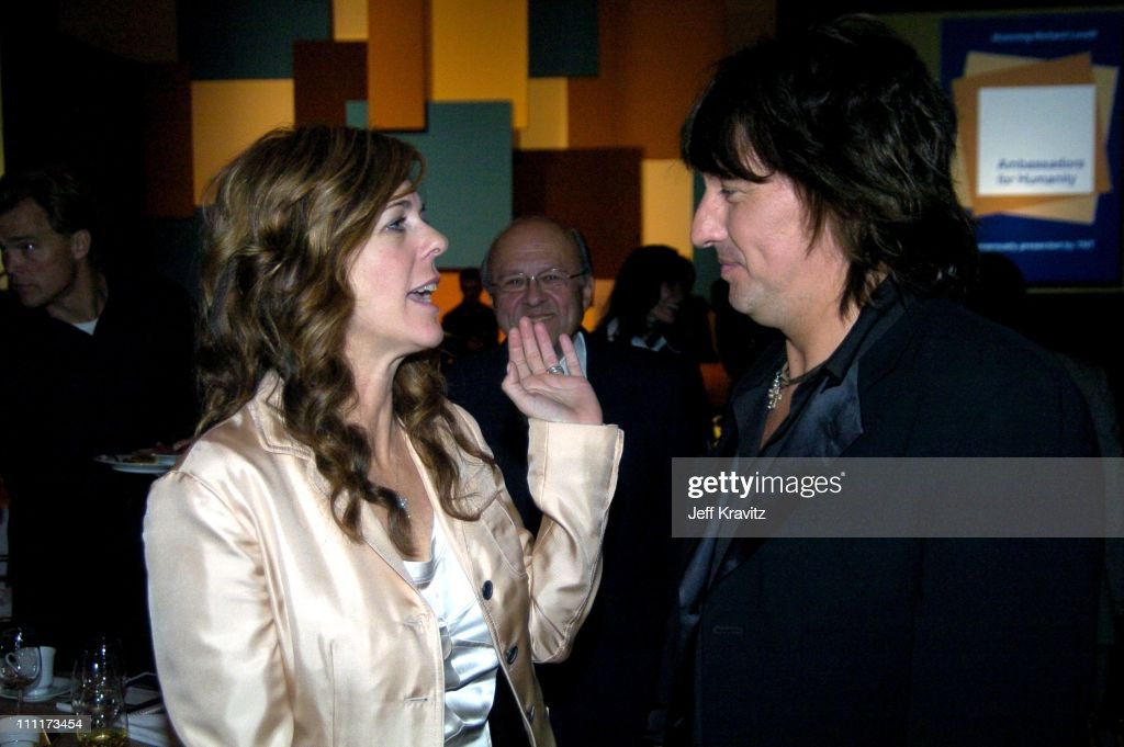 Rita Wilson and Richie Sambora during Shoah Foundation Exclusive Event at Amblin Entertainment on Universal Studios in Universal City, California, United States.