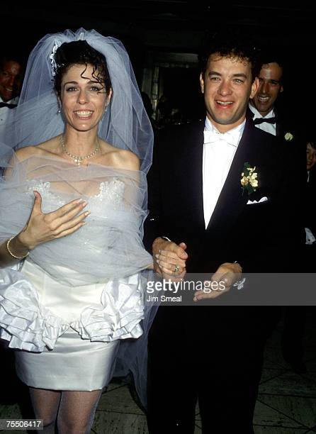 Rita Wilson and Tom Hanks at the Rex's in Los Angeles California