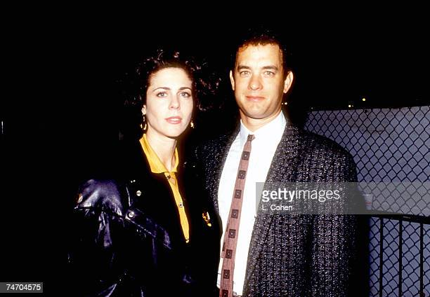 Rita Wilson and Tom Hanks at the Various in Los Angeles California