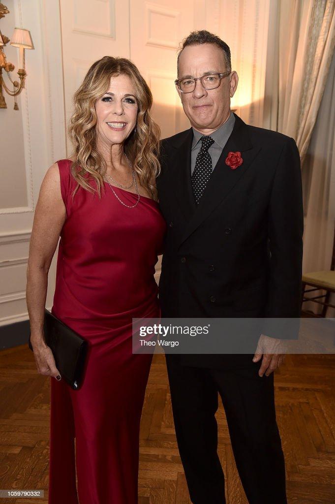2018 American Friends of Blerancourt Dinner : Nachrichtenfoto