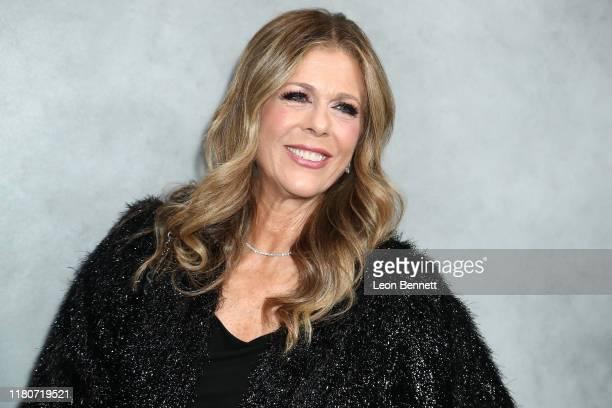 Rita Wilson attends 2019 Hammer Museum Gala In The Garden at Hammer Museum on October 12, 2019 in Los Angeles, California.