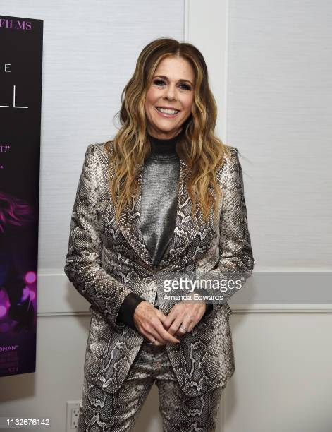 Rita Wilson attends a special screening of A24's Gloria Bell at The London West Hollywood on February 27 2019 in West Hollywood California