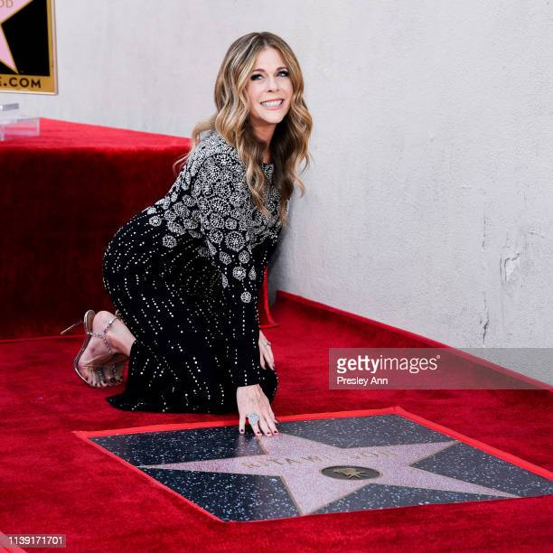 Rita Wilson attends Rita Wilson's Star Ceremony on the Hollywood Walk Of Fame on March 29 2019 in Hollywood California