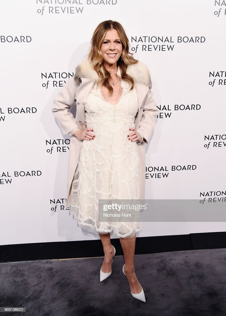 Rita Wilson attends the 2018 National Board Of Review Awards Gala at Cipriani 42nd Street on January 9, 2018 in New York City.