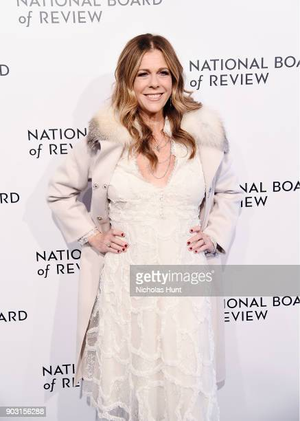 Rita Wilson attends the 2018 National Board Of Review Awards Gala at Cipriani 42nd Street on January 9 2018 in New York City