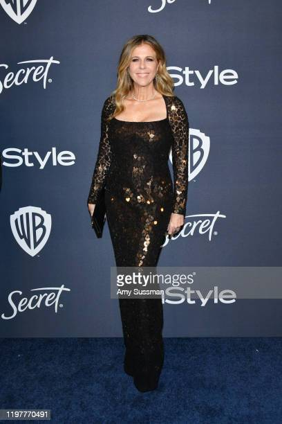Rita Wilson attends the 21st Annual Warner Bros. And InStyle Golden Globe After Party at The Beverly Hilton Hotel on January 05, 2020 in Beverly...