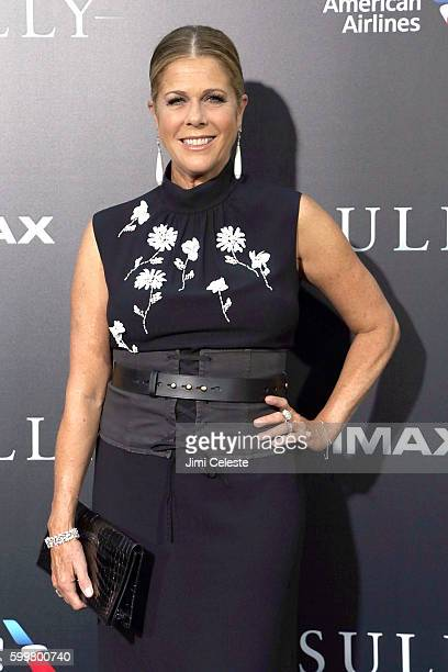 """Rita Wilson attends The New York Premiere of Warner Bros. Pictures' and Village Roadshow Pictures' """"Sully"""" at Alice Tully Hall at Lincoln Center on..."""