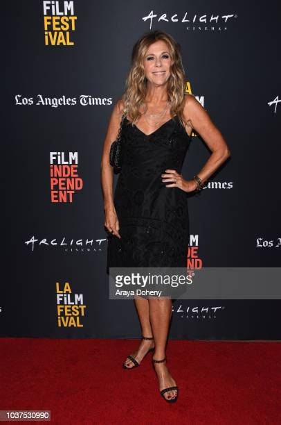 """Rita Wilson attends the screening of """"Simple Wedding"""" during the 2018 LA Film Festival at ArcLight Culver City on September 21, 2018 in Culver City,..."""