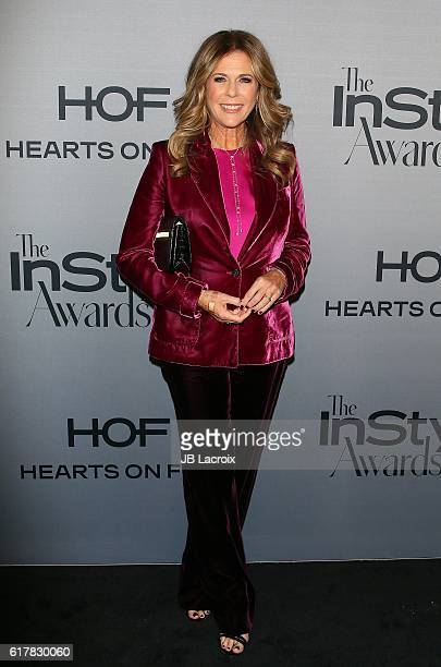 Rita Wilson attends the second annual 'InStyle Awards' presented by InStyle at the Getty Center on October 24 2016 in Los Angeles California