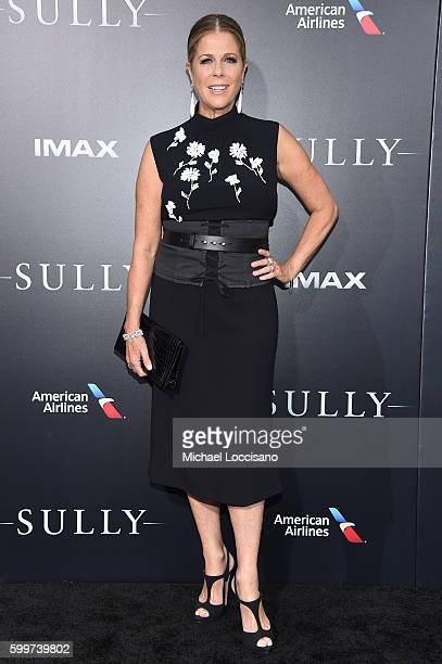 Rita Wilson attends the Sully New York Premiere at Alice Tully Hall on September 6 2016 in New York City