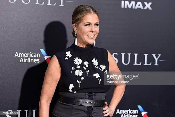 """Rita Wilson attends the """"Sully"""" New York Premiere at Alice Tully Hall on September 6, 2016 in New York City."""