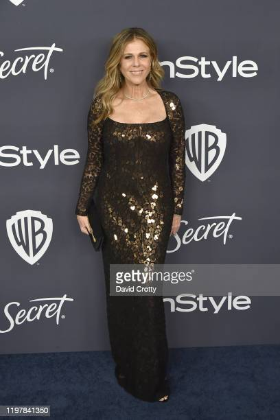 Rita Wilson attends the Warner Brothers and InStyle 21st Annual Post Golden Globes After Party Sponsored By L'Oreal Paris Secret at Beverly Hills...