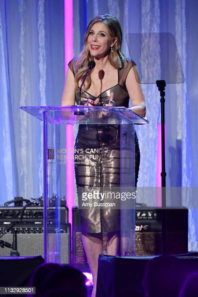 Rita Wilson attends The Women's Cancer Research Fund's An Unforgettable Evening Benefit at the Beverly Wilshire Four Seasons Hotel on February 28...