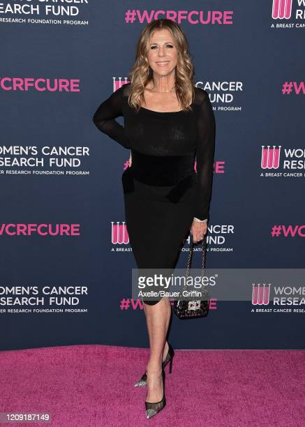 Rita Wilson attends The Women's Cancer Research Fund's An Unforgettable Evening 2020 at Beverly Wilshire, A Four Seasons Hotel on February 27, 2020...