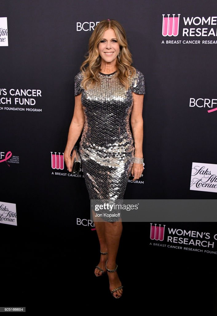 Rita Wilson attends The Women's Cancer Research Fund's An Unforgettable Evening Benefit Gala at the Beverly Wilshire Four Seasons Hotel on February 27, 2018 in Beverly Hills, California.