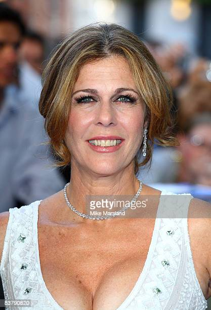 Rita Wilson attends the world premiere of Mamma Mia the Movie at the Odeon Leicester Square on June 30 2008 in London