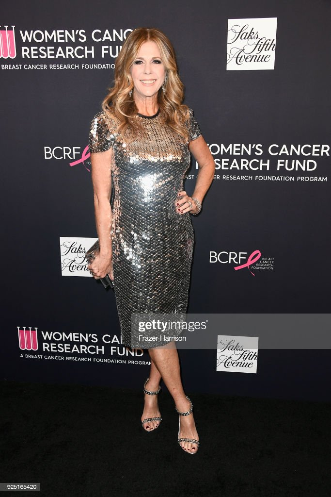 Rita Wilson attends WCRF's 'An Unforgettable Evening' at the Beverly Wilshire Four Seasons Hotel on February 27, 2018 in Beverly Hills, California.