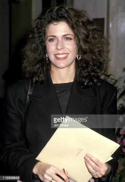 Rita Wilson during 1989 LA Film Critics Awards at Bel Age Hotel in Hollywood California United States