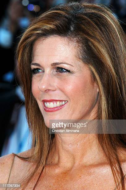 Rita Wilson during 2004 Cannes Film Festival The Ladykillers Premiere at Palais Du Festival in Cannes France