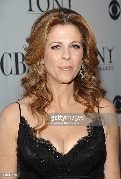Rita Wilson during 60th Annual Tony Awards Red Carpet at Radio City Music Hall in New York City New York United States