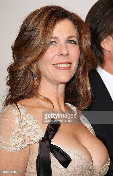 Rita Wilson during Saks Fifth Avenue's Unforgettable Evening Benefit for EIF's Women's Cancer Research Fund Arrivals at Regent Bevery Wilshire Hotel...
