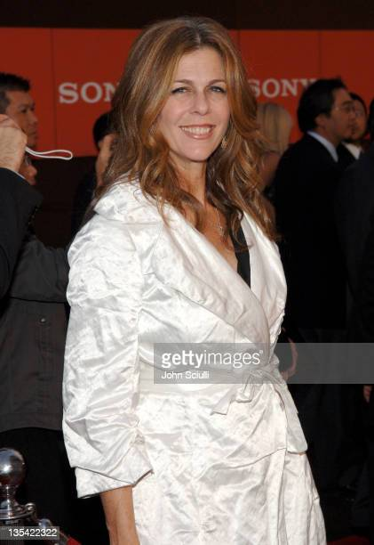 Rita Wilson during Sony Global Partners Conference Gala Dinner Arrivals in Beverly Hills California United States