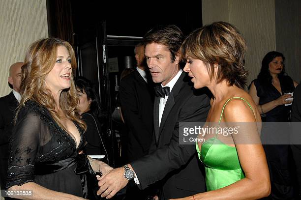 Rita Wilson Harry Hamlin and Lisa Rinna during MercedesBenz Presents the 17th Carousel of Hope Ball Red Carpet at Beverly Hills Hilton in Beverly...