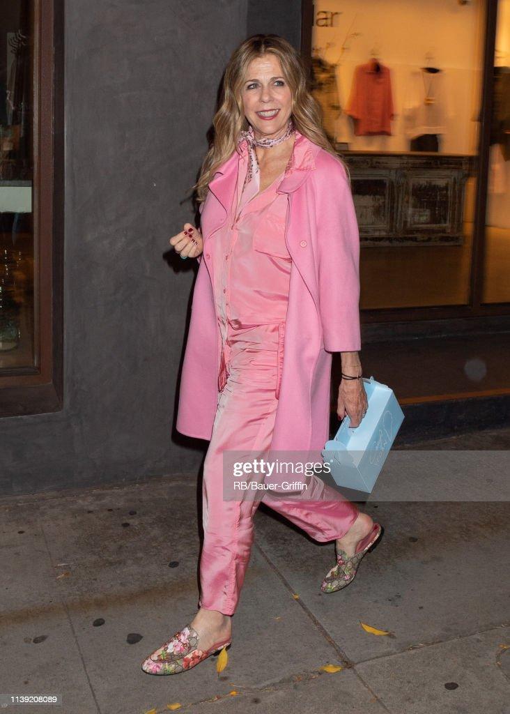 CA: Celebrity Sightings In Los Angeles - April 25, 2019