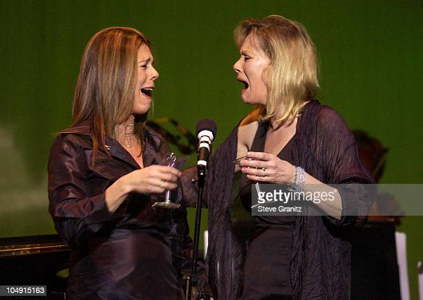 Rita Wilson Jean Smart during What A Pair A Celebration of Women's Duets from Broadway Musicals to Benefit The Revlon/UCLA Breast Center at The...