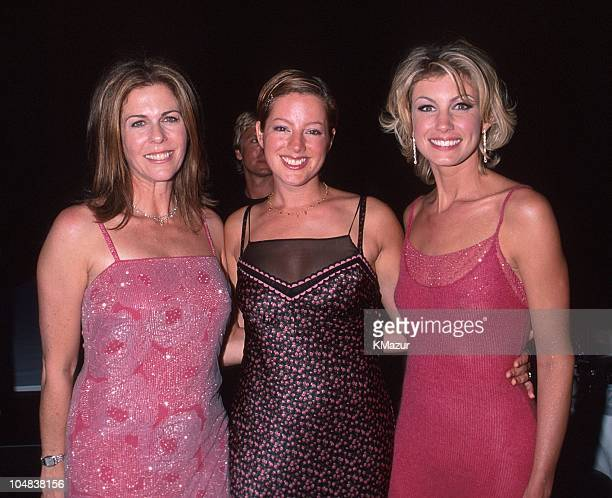 Rita Wilson Sarah McLachlan and Faith Hill during 18th Annual CFDA American Fashion Awards at The Armory in New York City New York United States