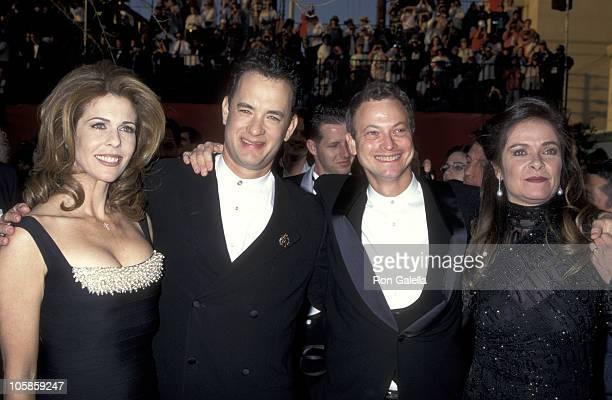 Rita Wilson Tom Hanks and Gary Sinese and Moira Harris