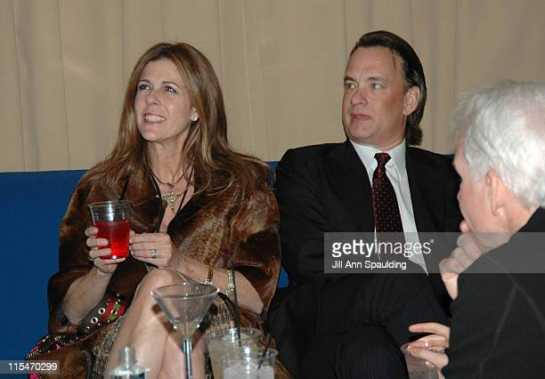 Rita Wilson Tom Hanks and Steve Martin during Earth to America After Party at PURE Night Club Inside at PURE Night Club Caesar's Palace in Las Vegas...