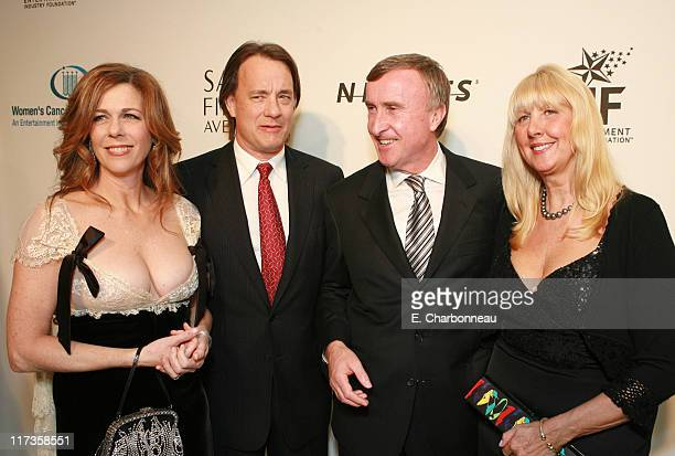 Rita Wilson Tom Hanks Paul Halata President and CEO MercedesBenz USA and guest