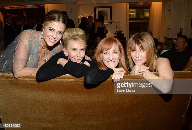 Rita Wilson Trudie Styler Patti Scialfa and Kate Capshaw attend the 37th Annual Kennedy Center Honors party at Mandarin Oriental Hotel on December 7...