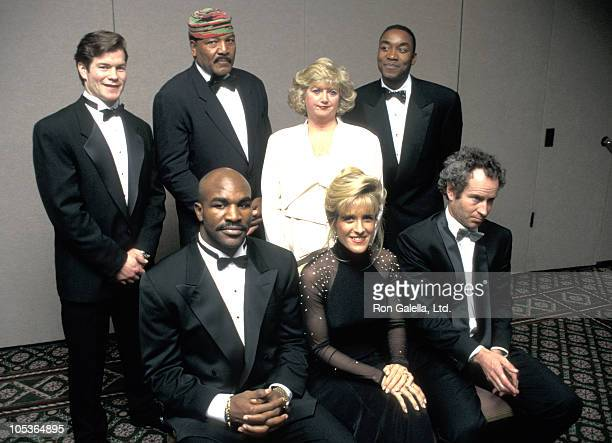 M Ritcher Jim Brown Isiah Thomas Tracy Austin Evander Holyfield And John McEnroe