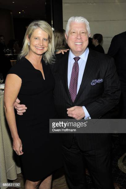 Ritchey Howe and Dennis Basso attend The Boys' Club of New York Annual Awards Dinner at Mandarin Oriental on May 17 2017 in New York City