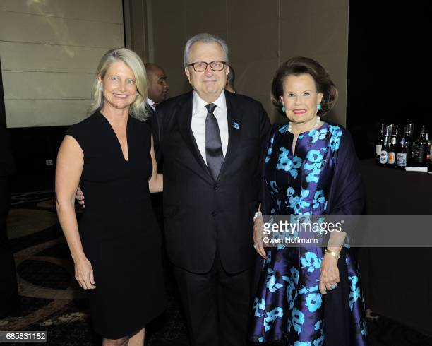 Ritchey Howe Ed Rappa and Hildegarde 'Hillie' Mahoney attend The Boys' Club of New York Annual Awards Dinner at Mandarin Oriental on May 17 2017 in...