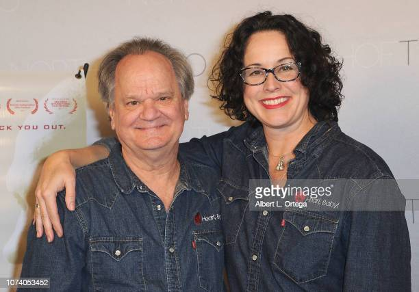 Ritchie Montgomery and Angela Shelton arrive for the premiere of 'Heart Baby' held at The Ahrya Fine Arts Laemmle Theater on November 23 2018 in...