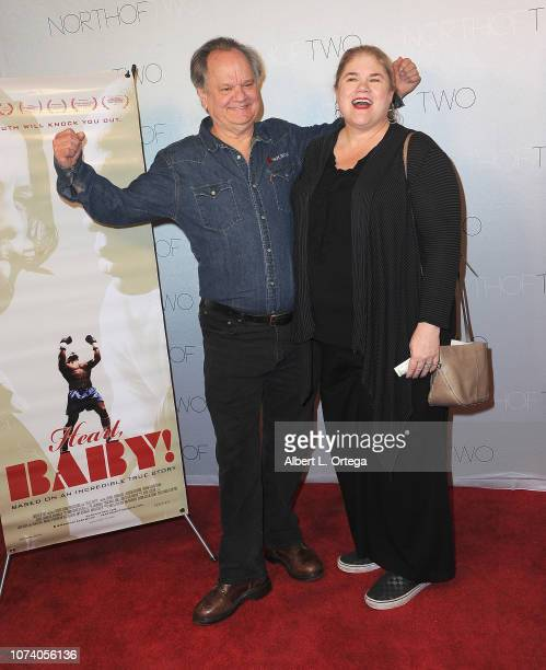 Ritchie Montgomery and guest arrive for the premiere of 'Heart Baby' held at Ahrya Fine Arts Theater on November 23 2018 in Beverly Hills California