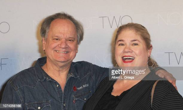 Ritchie Montgomery and guest arrive for the premiere of 'Heart Baby' held at The Ahrya Fine Arts Laemmle Theater on November 23 2018 in Beverly Hills...