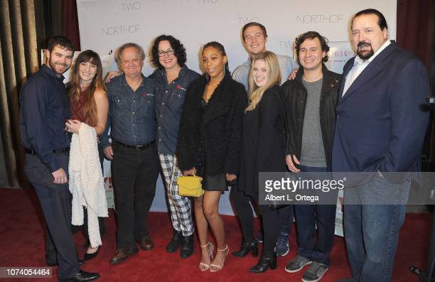 Ritchie Montgomery Angela Shelton Andy 'Doc' Dixon and guests arrive for the premiere of 'Heart Baby' held at The Ahrya Fine Arts Laemmle Theater on...
