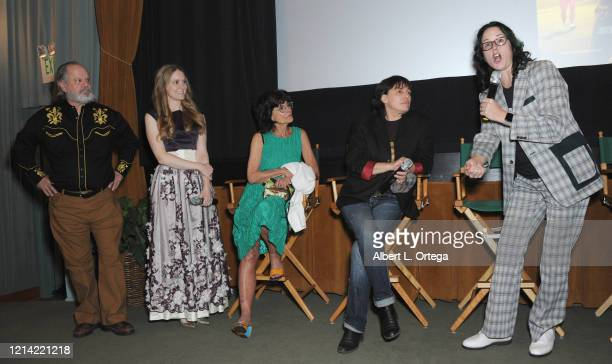 Ritchie Montgomery Breeanna Judy Adrienne Barbeau Aly Drummond and Angela Shelton participate in the Q A after the Premiere Of Eagle And The...