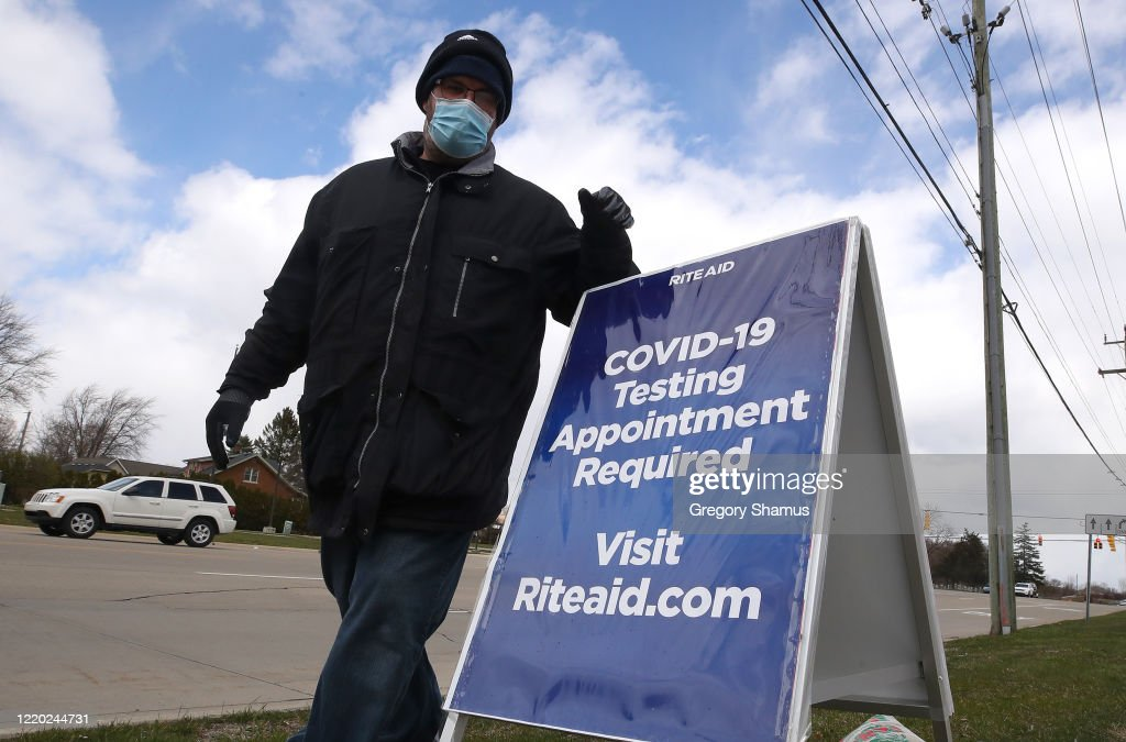 Rite Aid And HHS Expand COVID-19 Self-Swab Testing Sites : News Photo
