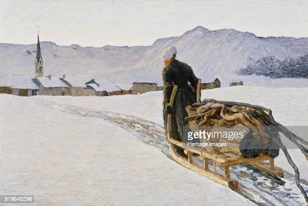 Ritorno dal bosco 1890 Found in the Collection of Segantini Museum St Moritz
