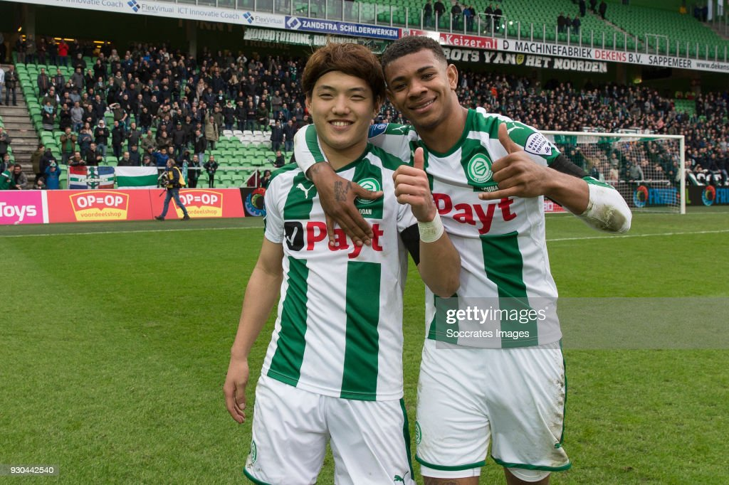 FC Groningen v PEC Zwolle - Dutch Eredivisie : News Photo