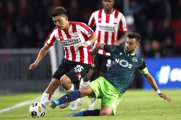 NLD: PSV Eindhoven v Sporting CP: Group D - UEFA Europa League