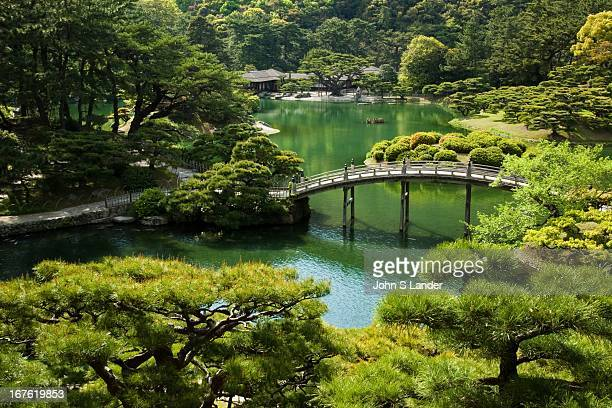 Ritsurin is a landscape garden in Takamatsu built by the local feudal lords during the Edo Period Considered one of the finest gardens in Japan...