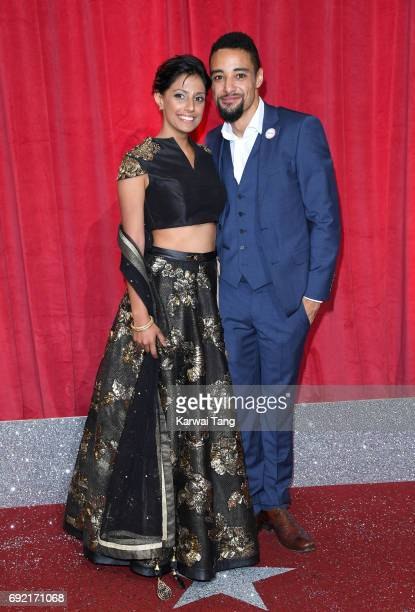 Ritu Arya attends the British Soap Awards at The Lowry Theatre on June 3 2017 in Manchester England