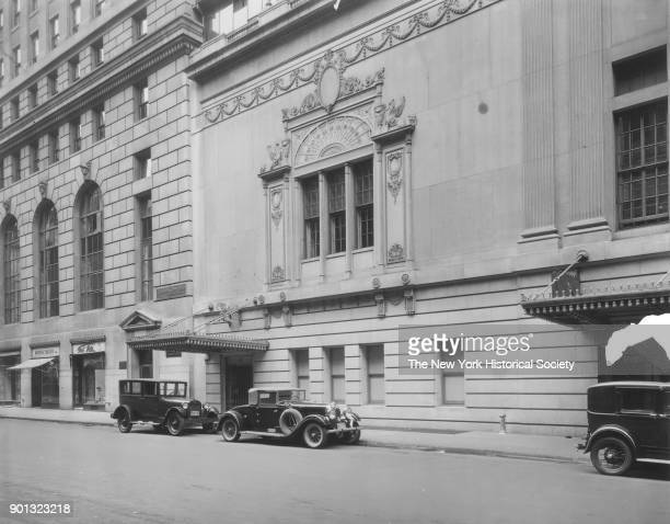 Ritz Carlton Hotel East 46th Street north side New York New York 1929