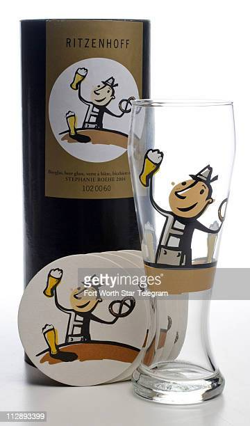 Ritzenhoff beer glass in a gift box with matching paper coasters $37 wwwritzenhoffusacom for retail locations
